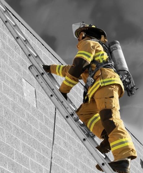 pompier foc fum