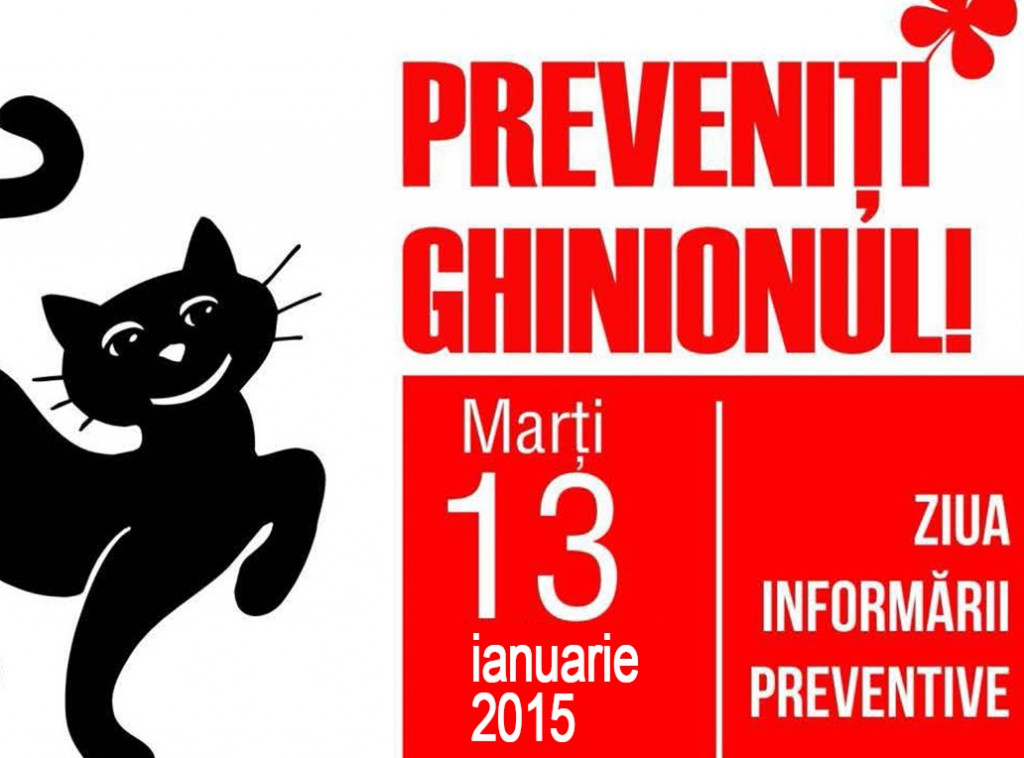 marti 13 ziua informarii preventive