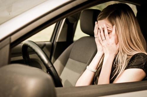 femeie masina accident politia