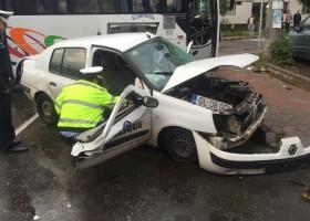 Accident de circulație cu victime la intersecția străzilor Lămâiței cu Progresului – Piatra Neamț