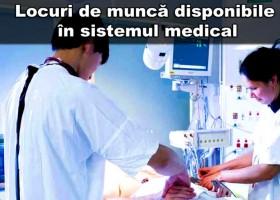 Locuri de muncă disponibile în spitalele din România – 27 noiembrie 2015